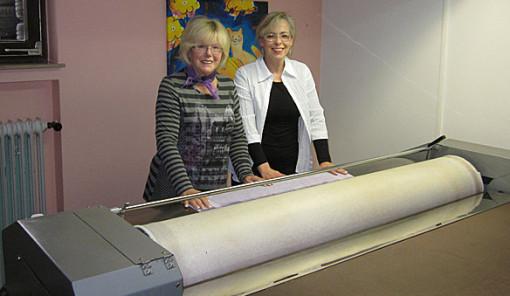 Firmengründerin Ingeborg Loefke und die heutige Inhaberin Susanne Kamien.